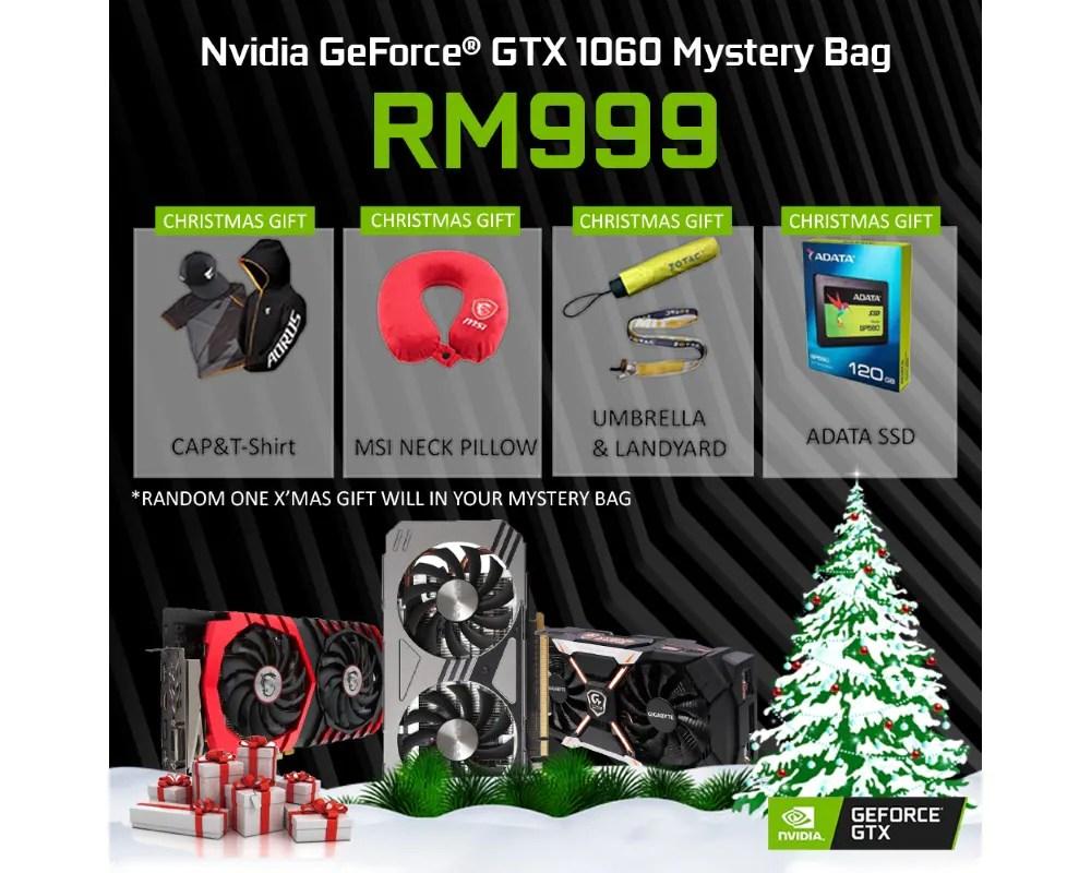 NVIDIA GeForce Malaysia Store Offers GeForce GTX 1060 6GB