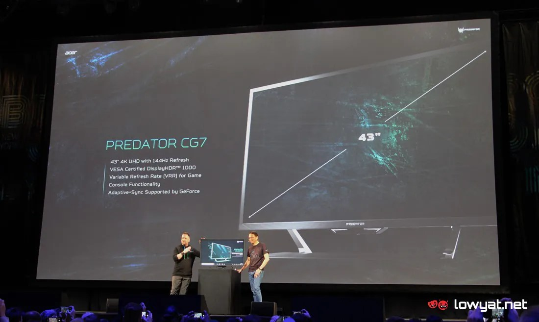 Acer Launches 43-inch Predator 4K HDR Gaming Monitor