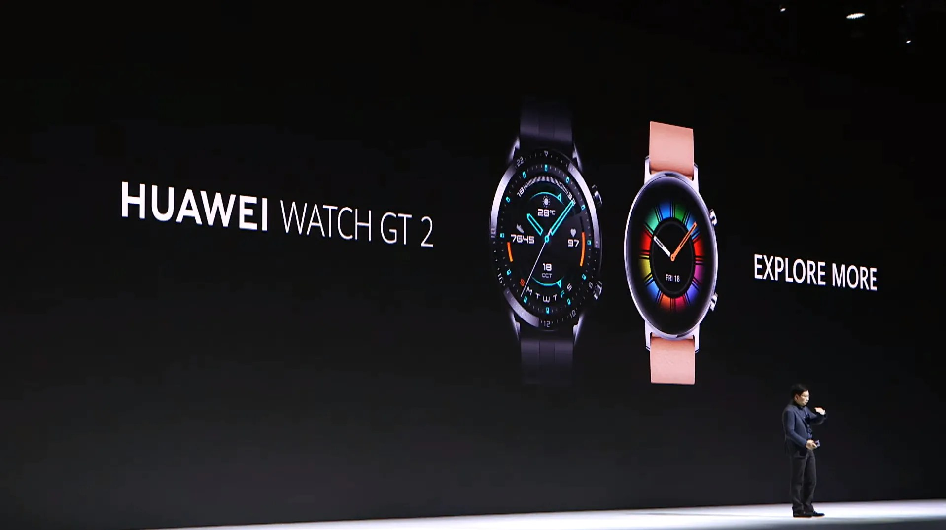 Huawei announces the Watch GT 2 in two case and size options