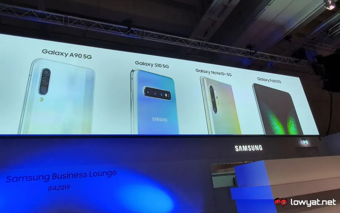Samsung Galaxy A90 5G is Now Official: Snapdragon 855, 48MP Rear Camera Setup and 4500mAh Battery in Tow