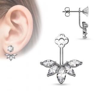 ornement pour clou d oreille style