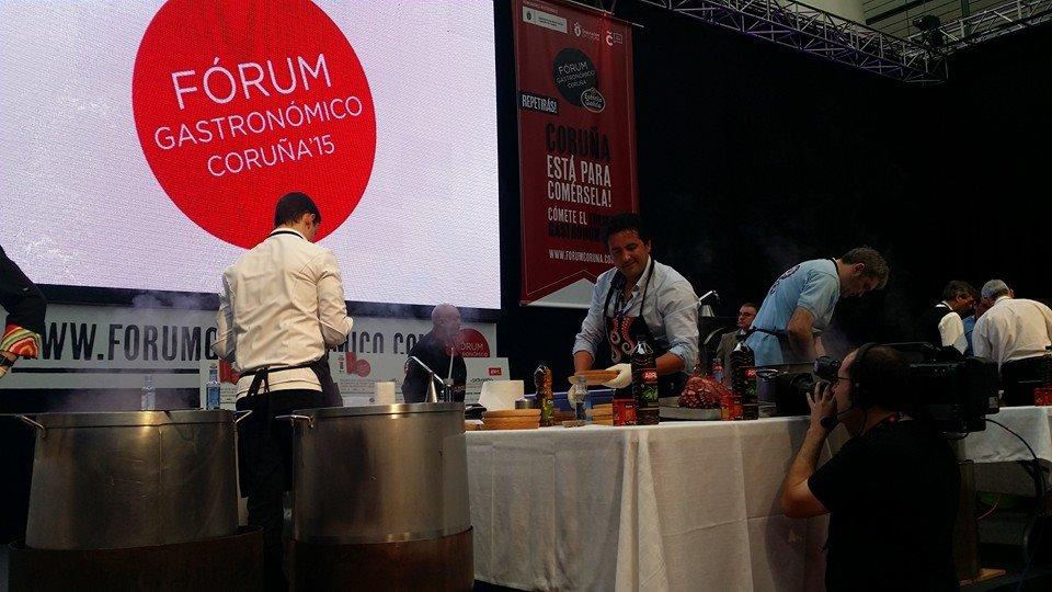 Polbo de Lonxa en el Forum Gastronómico´15 de A Coruña