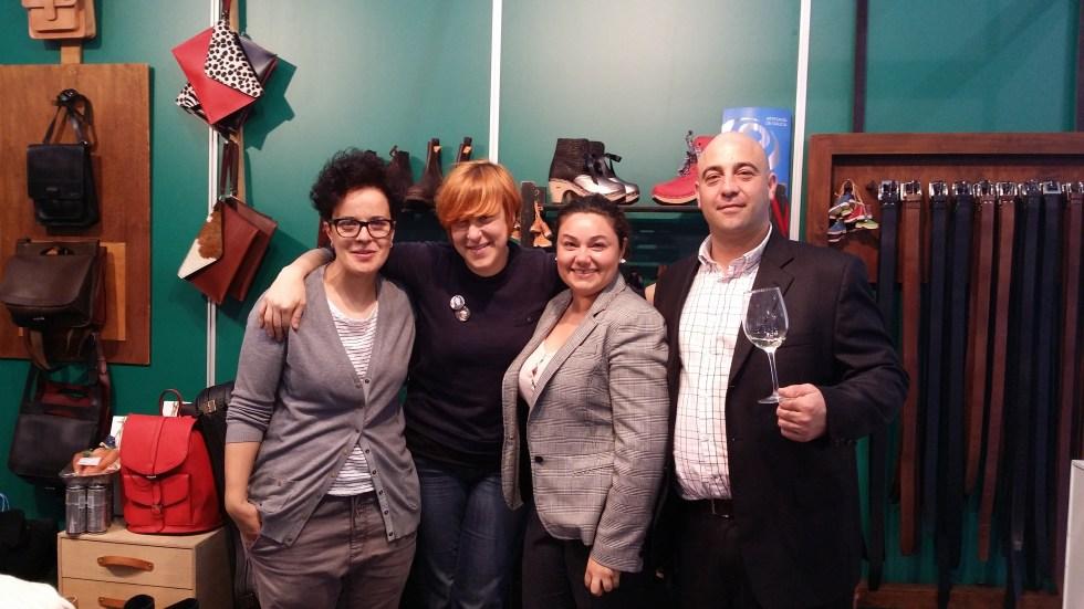 Un lujazo compartir espacio con la artista musical SES y Elena Ferro de EFERRO