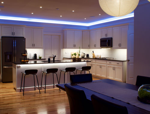 how to create under cabinet lighting