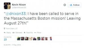 NixonTweet