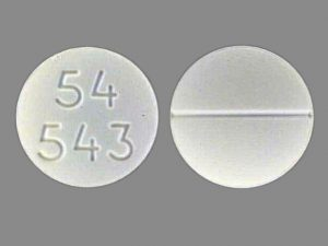 what is your round white pill 21