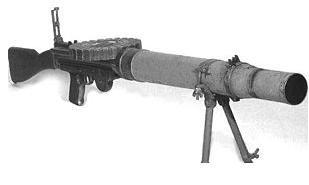 Lewis Gun. Click link to Wikipedia entry about this machine gun.