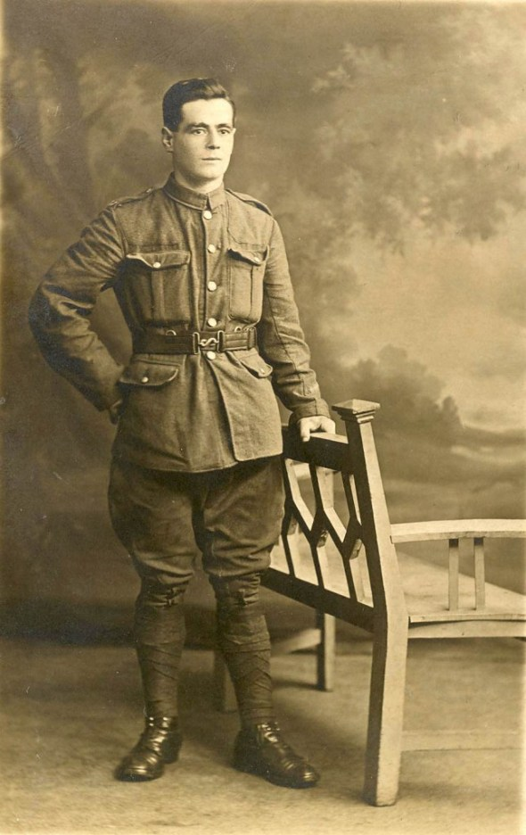 Private Richard Child, 1914.