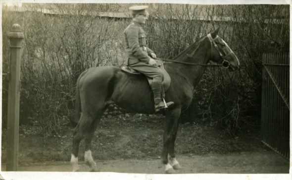 Private Richard Child, France 1915