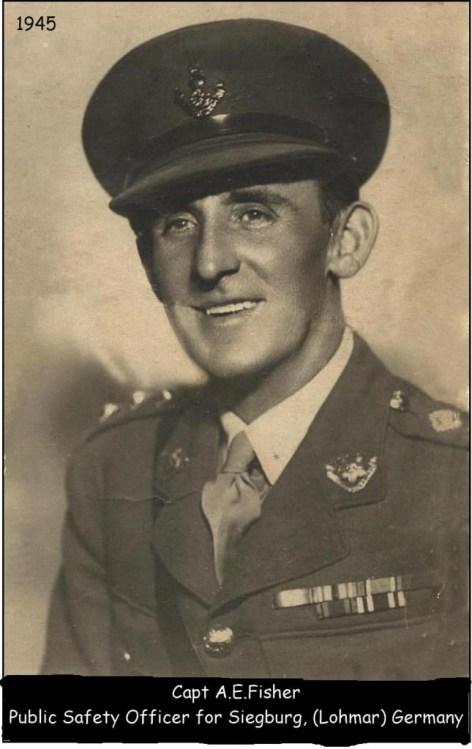 Captain Albert Fisher, 1945