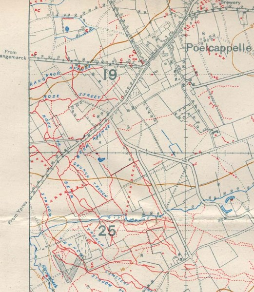 TrenchMap_Poelcappelle