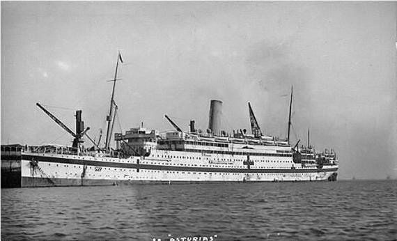 Hospital Ship Asturias
