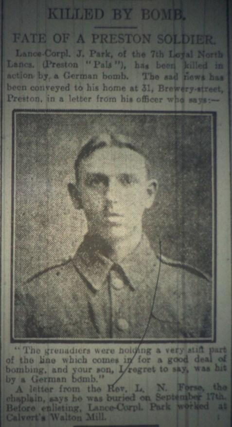 Corporal Joseph Harrison Park 1