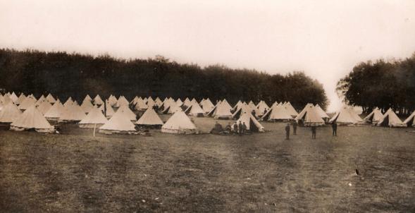 rushmoor camp 1915