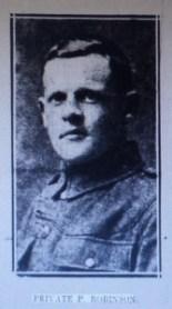 6252 Private Percy Robinson