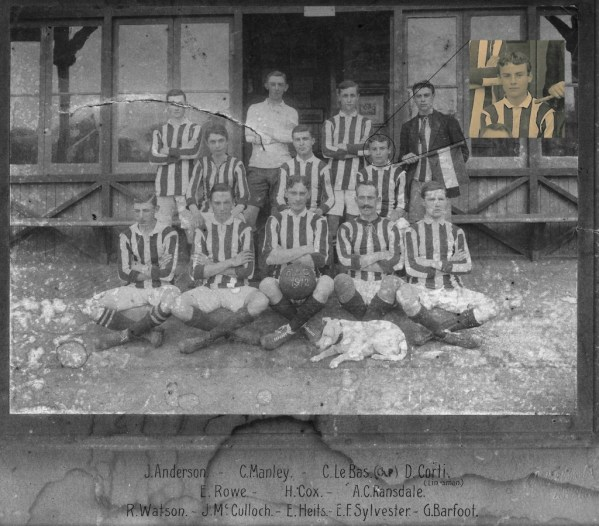 RANSDALE - FOOTBALL 3ra division CAR 1912-mod