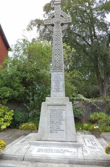 croston war memorial