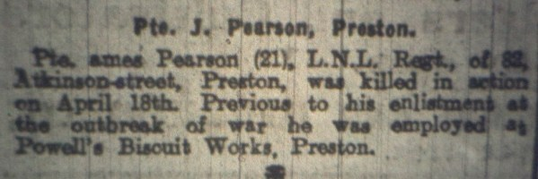 14906 Private James Pearson 2