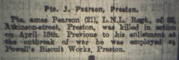 14906 Private James Pearson 2