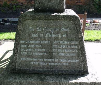 hollinshead memorial