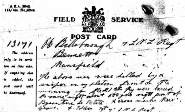 13171 Private Walter Billsborough 1