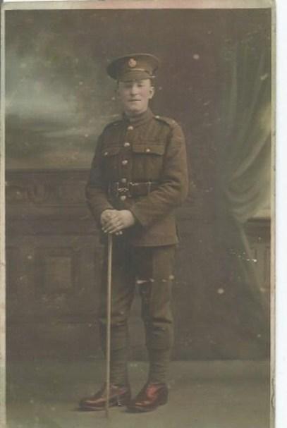 "203522 Private John Gregson MM ""B"" Coy 10th Battalion"
