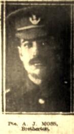 24615 Private Adam Johnson Moss 10th Battalion