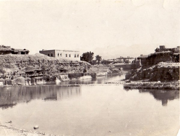 A view of the Tigris, c. 1916
