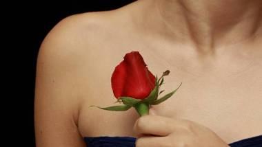 Temporary Rose Tattoo