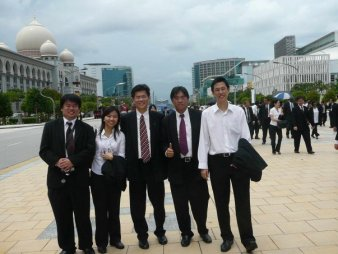 (fr left) Damian Yeo, Song Siew Funs, Wong Fook Meng, Desmond Ho & Yap Yeow Han