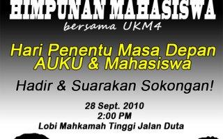 Himpunan Sempena Keputusan Kes UKM 4 – 28 September, MTKL