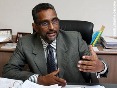 Ragunath Kesavan, Present Bar Council President