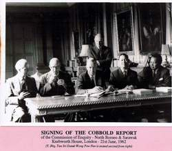 Signing of the Cobbold Report | source - http://wongpownee.com/