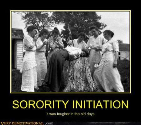 Sorority Initiation