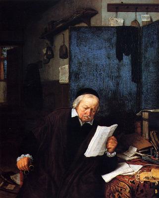 Lawyer in His Study by Adriaen Jansz Van Ostade