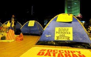 #OccupyDataran & Students' Encampment Ambushed By Gangsters