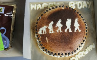 Local Science Club Celebrates Darwin's Birthday