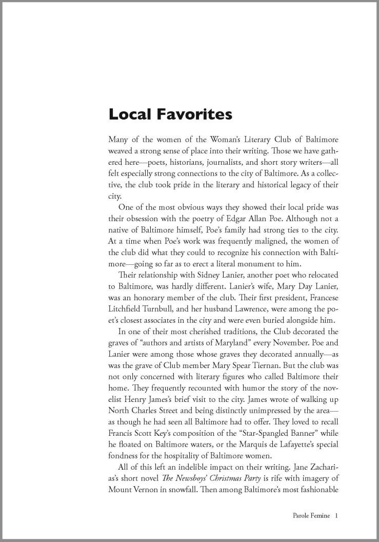 Page 1 of Parole Femine