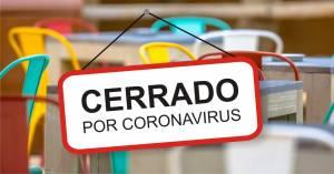 Coronavirus y tributación de máquinas de juego. Encrucijada, fotografía de publicidad del coronavirus