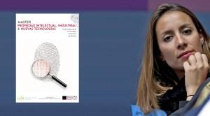 Patricia Lalanda interviene en el Master de Propiedad intelectual de la Universidad Autónoma, fotografía de Patricia Lalanda