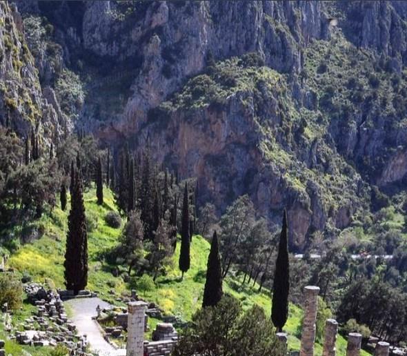 Vue de Delphes
