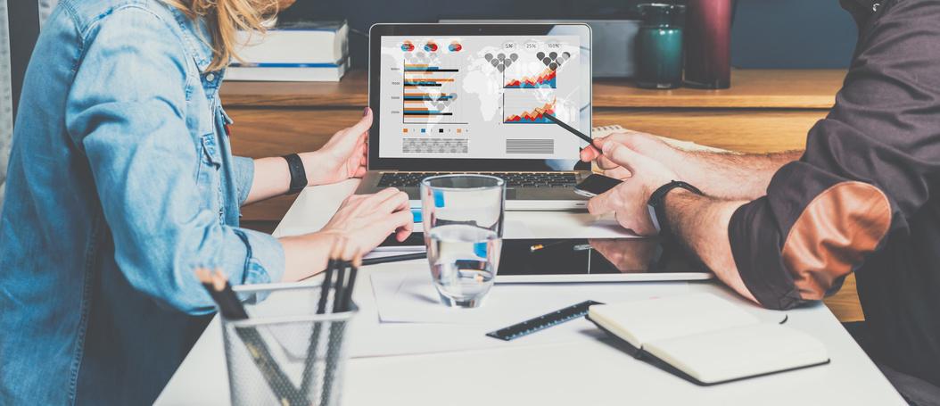 Kundengespräch inklusive Datenanalyse