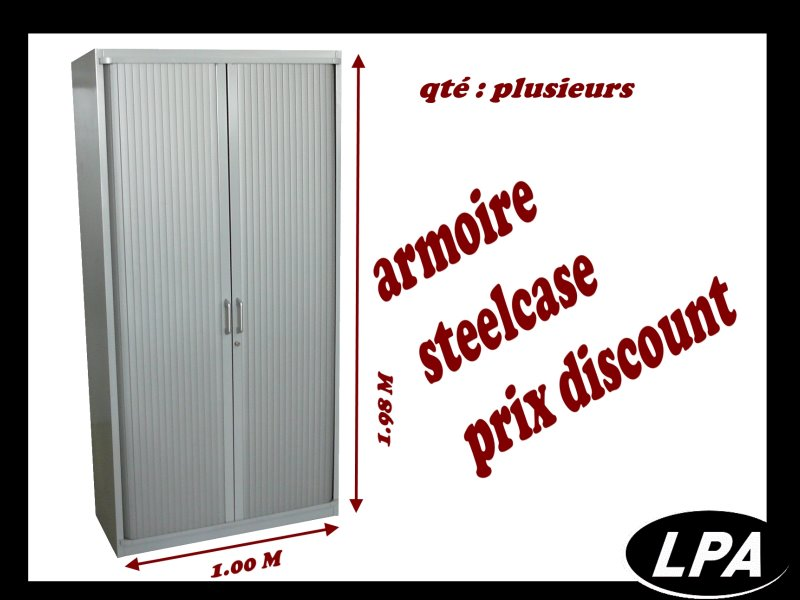 armoire steelcase occasion 1 98x1 00