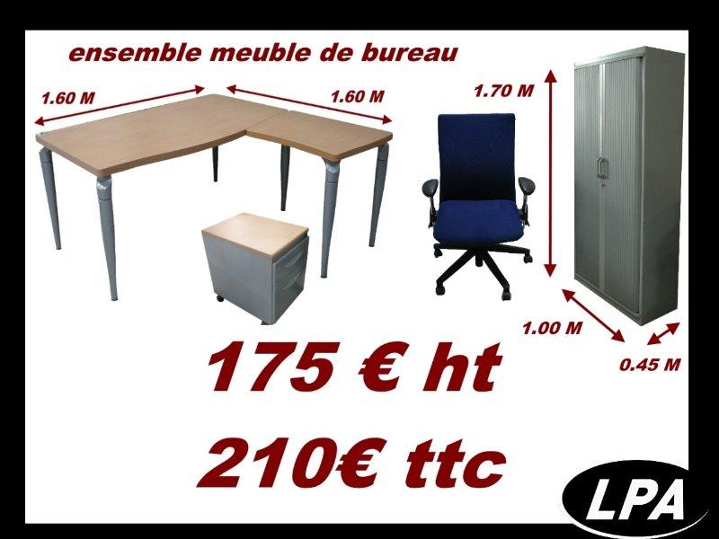 ensemble mobilier de bureau prix discount