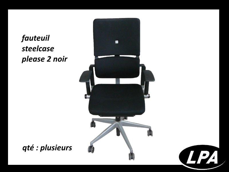 Fauteuil Steelcase Please 2 Fauteuil Mobilier De