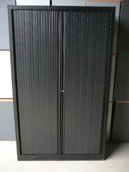 Armoire Mtallique Noire VINCO 198x120 Armoire Haute