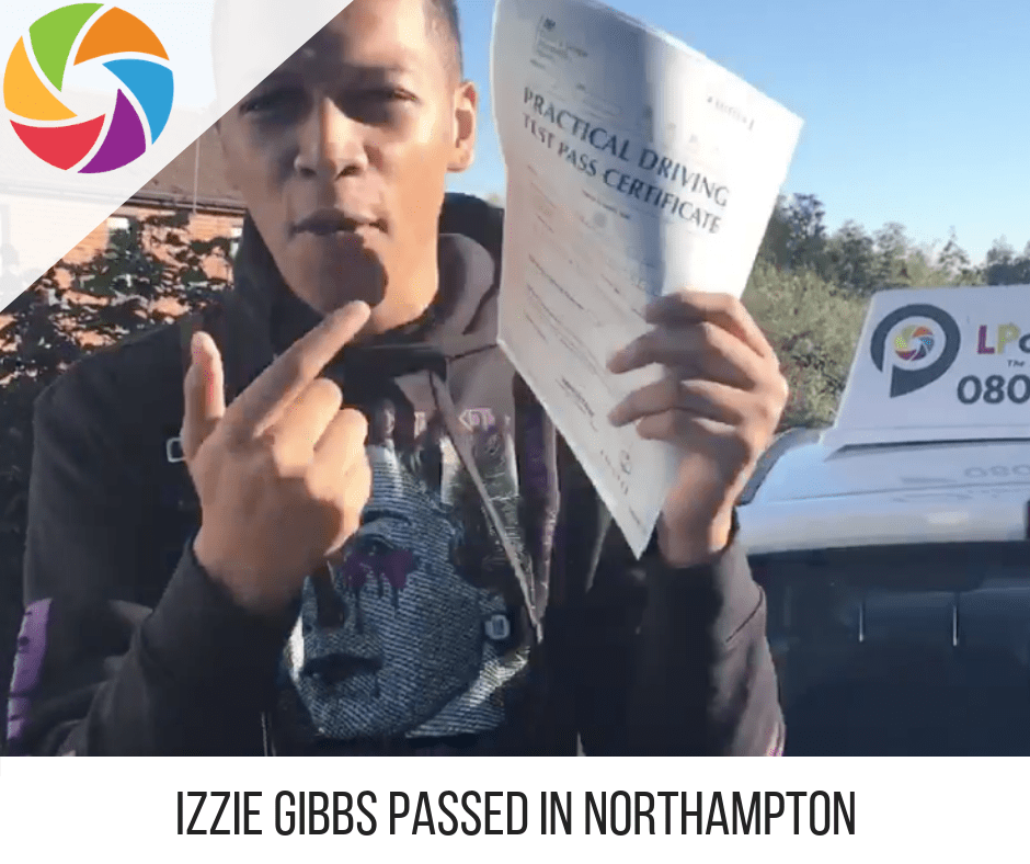 Izzie Northampton Pass Picture