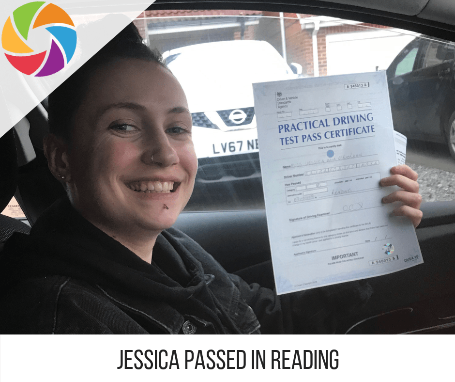 Jessica Reading Pass Picture