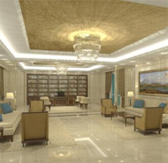 Qatar Embassy Chancery (Interiors)
