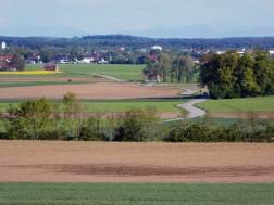 Blick auf Tegger Moos, Gemeinde Gilching